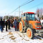 自動可変施肥機の説明とデモ(担当:ズコーシャ米山)